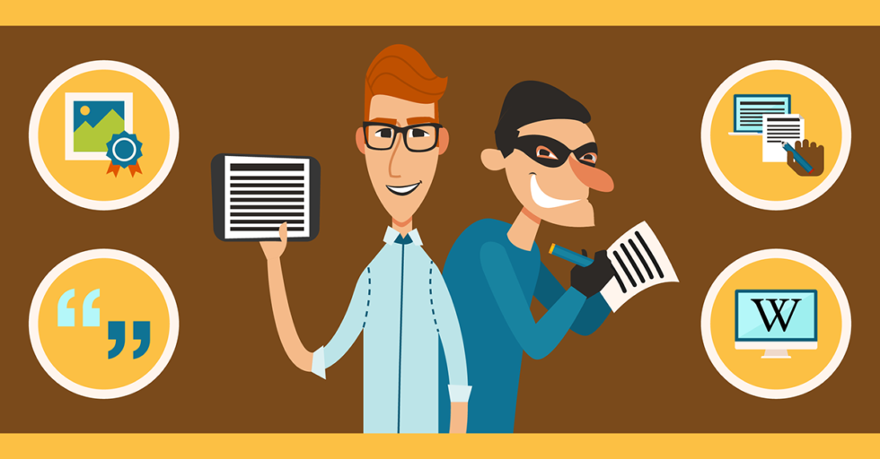 how to avoid plagiarism in the workplace
