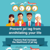 Prevent jet lag from annihilating your life