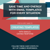 Save time and energy with email templates for every situation