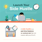 Earn some extra dough and find a new sense of purpose with a side hustle
