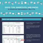 Excel tips, shortcuts, and hacks to streamline spreadsheets like a pro