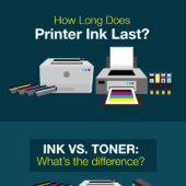 How long does printer ink last?