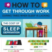 How to get through work during times when sleep is lacking