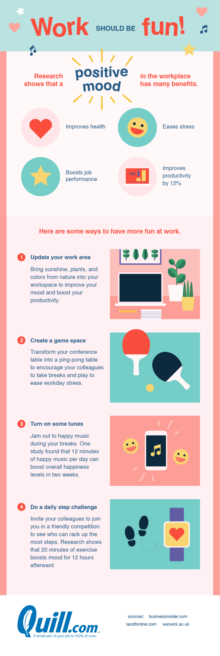 How to have more fun at work