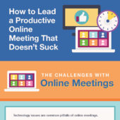 How to lead a productive online meeting that doesn't suck