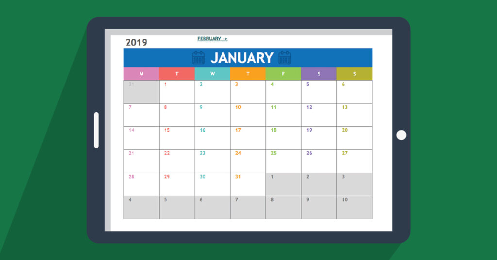 How to make a calendar in excel – Quill com Blog