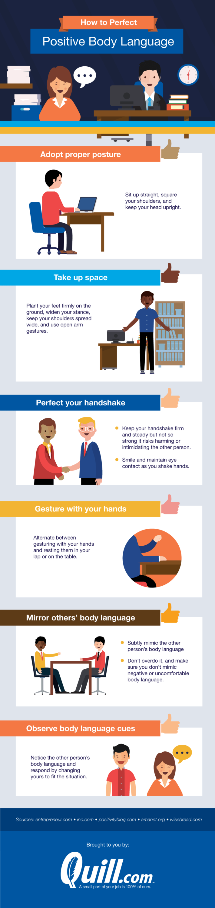 Tips on how to read body language in the workplace