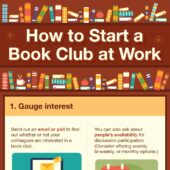 How to start a book club at work