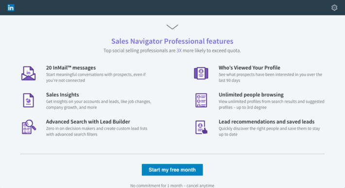 how to use advanced search feature in sales navigator linkedin