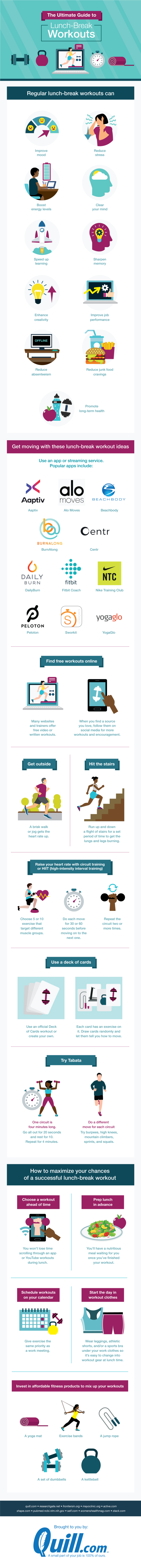 Master your lunch-break workout without going to the gym