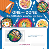 One and done: One-pot meals for the working mom