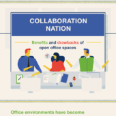 Benefits & drawbacks of open office spaces