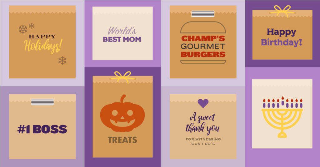 Package Your Treats In Custom Paper Gift Bags Quill Blog