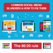 12 Common social media blunders and how to fix them