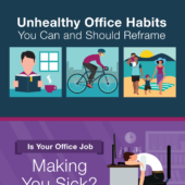 Unhealthy office habits you can and should reframe