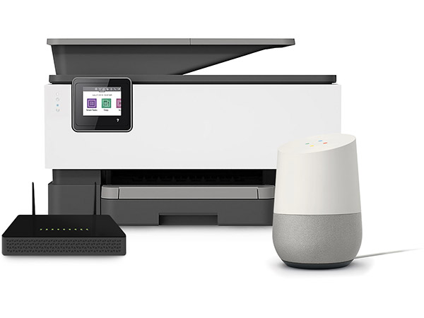 Printer, wireless modem and wireless speaker