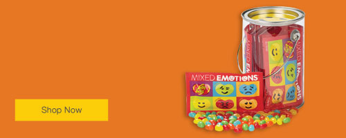 FREE Jelly Belly® smiley face bucket when you spend $50 on Duracell® batteries.