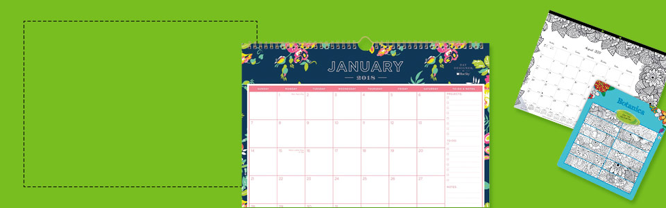 Academic calendars and planners
