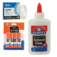 Glue, Adhesives & Tape