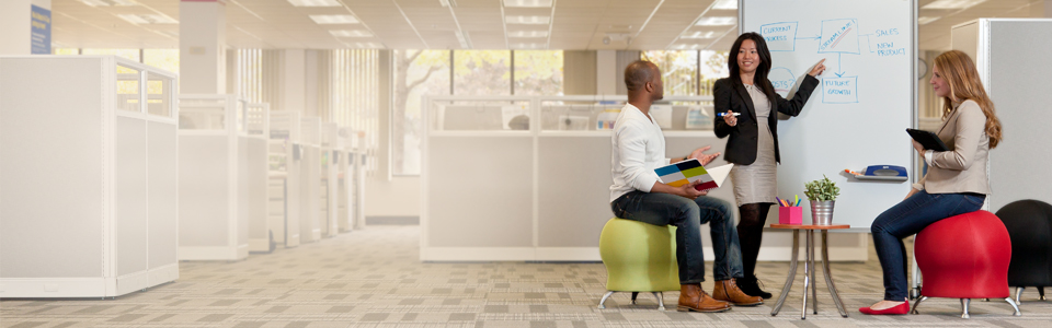 cool, unique office furniture-free shipping | quill