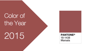 2015 Pantone colors of the year
