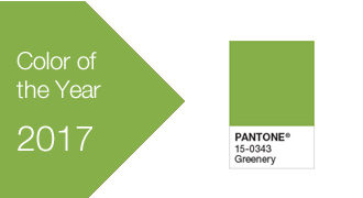 2017 Pantone colors of the year