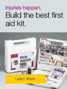 Injuries happen. Build the best first aid kit.