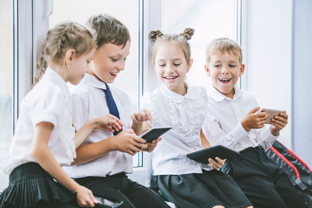 Mobile devices for classroom