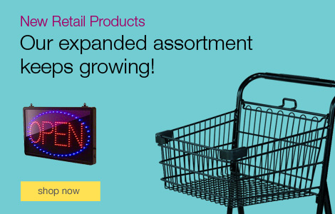 New Retail Products. Shop our expanded assortment.