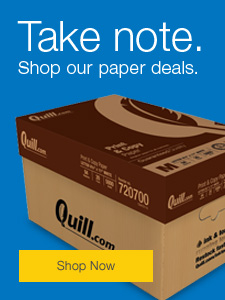 Take note. Shop our paper deals.
