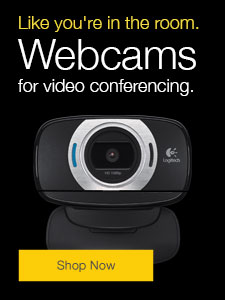 Webcams for video conferencing.