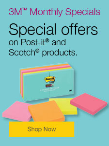 Special offers on Post-it® and Scotch® products.