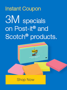 3M specials on Post-it® and Scotch® products.