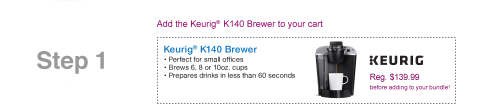 Keurig K140 Brewer