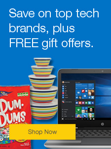 Save on top tech brands, plus FREE gift offers.