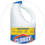 Scroll to Bleach & Cleaners section