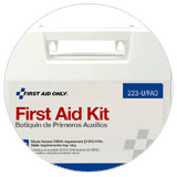 Scroll to First Aid section.
