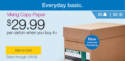 copy paper cheap printer paper deals quill com everyday basic