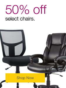 50% off select chairs.