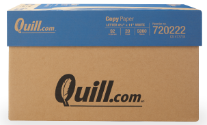 Case of Quill Brand paper