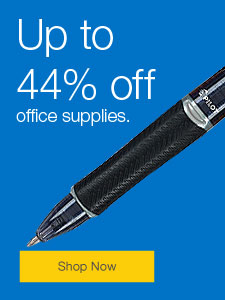 Up to 44% off office supplies.