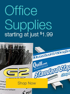 Office supplies starting at just $1.99