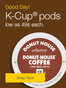 K-Cup® pods low as 49¢ each.