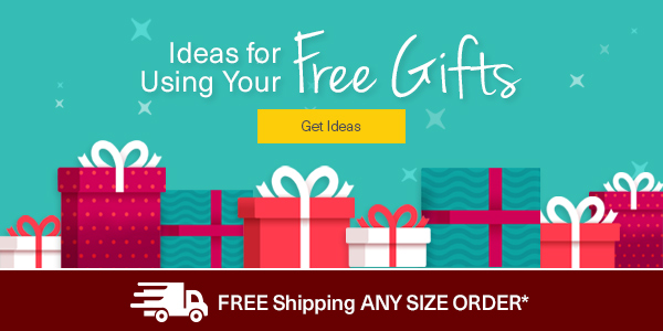 Ideas for using your FREE Gifts