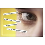 Medical Arts Press® Eye Care Greeting Cards; Human Eye Can See, Personalized