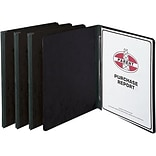 Black 20-pt. Prong-Style Pressboard Covers