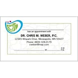 Medical Arts Press® Medical Full-Color Appointment Cards; 50s Geo