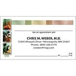 Medical Arts Press® Medical Full-Color Appointment Cards; Three Medical Panels
