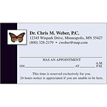 Medical Arts Press® Full-Color Appointment Cards; Butterfly