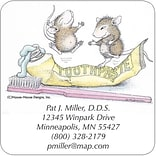 Medical Arts Press® House-Mouse Designs® Magnets; Hoppy Mice